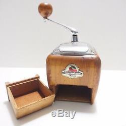 Vintage Coffee Grinder Zassenhaus Nr. 531 Brilliant von ca. 1956-1960