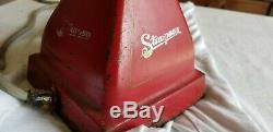 Vintage Electric Stimpson Coffee Grinder Mill Working! Computing Scale Cast Iron