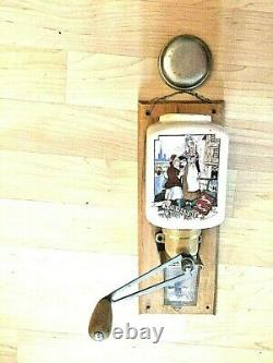 Vintage FRENCH PEUGEOT COFFEE GRINDER or BEAN MILL