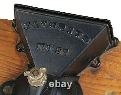 Vintage Favorite No 27 Cast Iron Wall Mounted Coffee Grinder/Mill