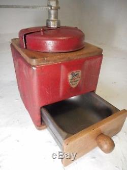 Vintage French Peugeot Freres Coffee Grinder ref 4241