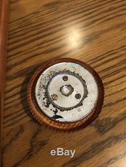 Vintage German Kaffee Coffee Grinder Wall Mount Lid Mill Porcelain Glass Cup