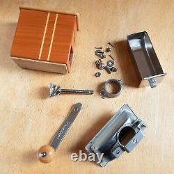 Vintage German ZASSENHAUS Coffee Mokka Grinder #498 with metall drawer EX cond