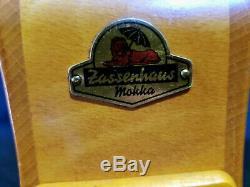 Vintage German Zassenhaus Mocha Mokka Coffee Grinder