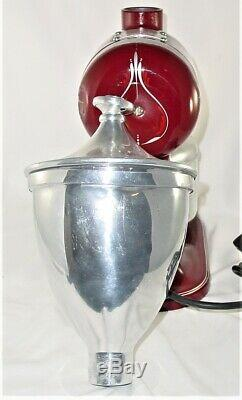 Vintage Hobart Coffee Bean Grinder Model #2010 Works Great Made in Troy, Ohio