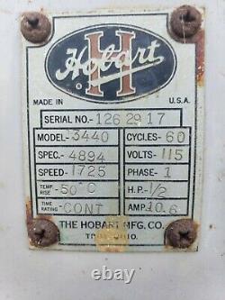 Vintage Hobart Coffee Bean Grinder Model # 3440 Works Great in Ohio Antique Old