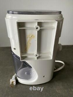 Vintage Krups 223A Mr. Fusion Coffee Grinder Made In Germany With Wall Mount