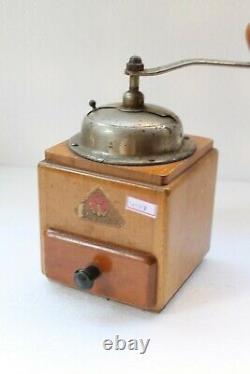 Vintage Old Pede Dienes Coffee Beans Grinder Collectible NH4148