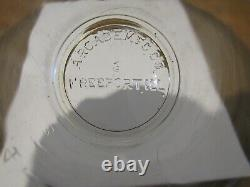 Vintage Original Arcade Crystal #3 Coffee MILL Coffee Grinder Catch Cup