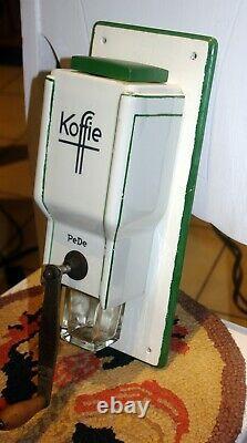 Vintage Pede European Ceramic Coffee Grinder / MILL Complete