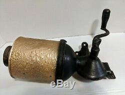 Vintage Royal Coffee Grinder Patent Date April 15 1890 June 5 1894