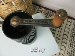 Vintage Salter / Sponge Cast Iron Coffee Grinder Made in England