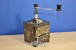 Vintage Soviet mechanical coffee grinder. Original. USSR