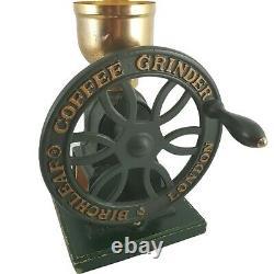 Vintage Style Birchleaf Coffee Grinder London Cast Iron Design Reg No 2063773