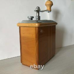 Vintage ZASSENHAUS Mokka 498 Rosel German Coffee Grinder Mill / Kaffeemühle