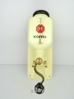 Vintage Zassenhaus Douwe Egberts Dutch Wall Coffee Mill Grinder (Pede Era)
