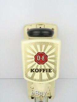 Vintage Zassenhaus Douwe Egberts Dutch Wall Coffee Mill Grinder (Pede Era)