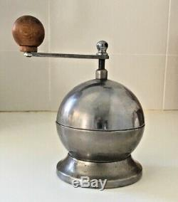 Vintage coffee grinder mill Atomic Tre Spade Italy