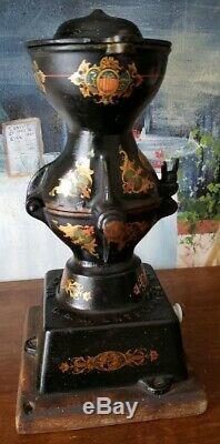 Wonderful Original Antique Enterprise Coffee Grinder No. 1 Cast Iron